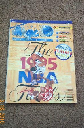 Magic Magazine, July 1995, Special Playoff Issue: Carden, Bruce, editor