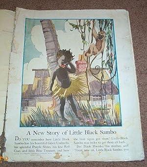 New Story of Little Black Sambo: Bennett, Juanita C. Illustrator