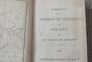 Narrative of a Mission of Inquiry to the Jews from the Church of Scotland in 1939