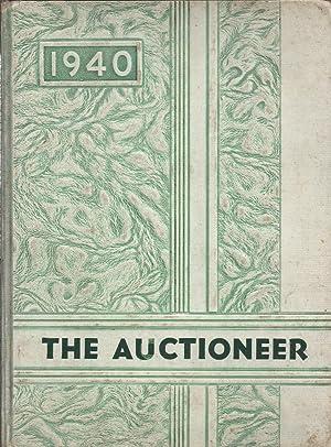 Auctioneer 1940, Greenville High School Yearbook, Greenville, TN: N/A