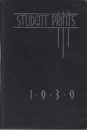 The Student Prints 1939, Greenville High School Yearbook, Greenville, TN: N/A