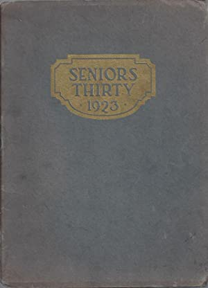 Seniors Thirty 1923, Greenville High School Yearbook,: N/A