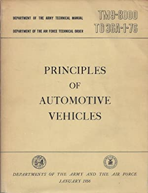 Principles Of Automotive Vehicles; TM9-8000; TO 36A-1-76: Departments Of The