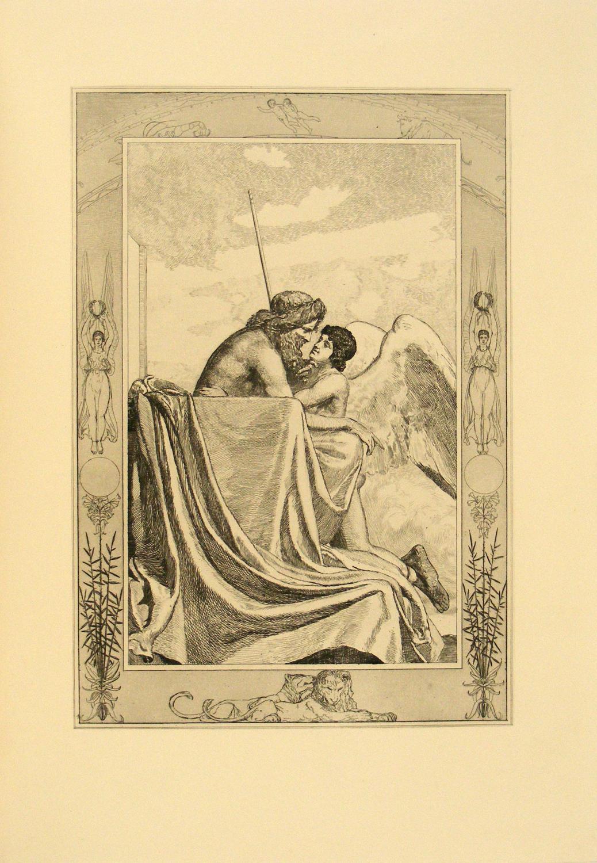 Amor und Psyche. Ein Märchen des Apulejus.: Klinger, Max,