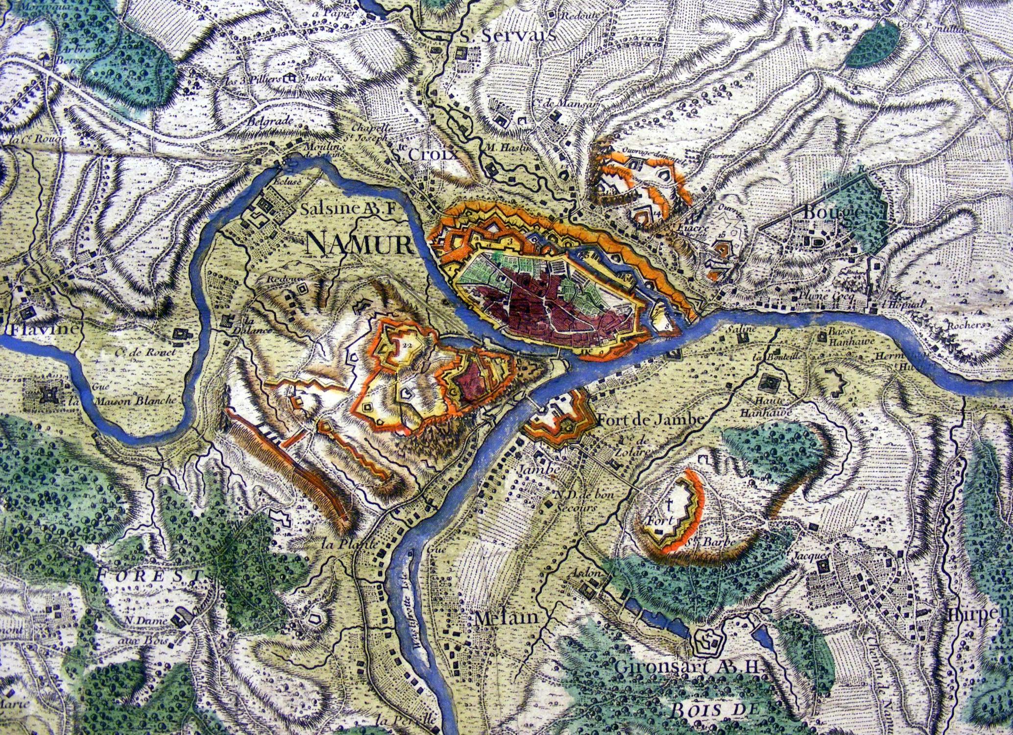 Carte topographique du comt de namur by namur - Cash converter porte de namur ...