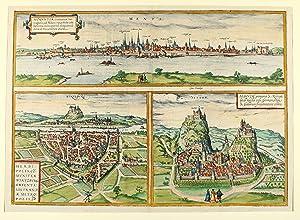 Moguntia, Germaniae Metropolis, ad Rheni ripas Vrbs: Mainz - Würzburg