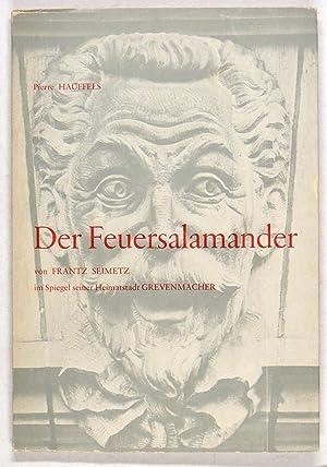 Der Feuersalamander von Frantz Seimetz im Spiegel: Seimetz -
