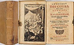 Le Secret Des Cours, Ou Les Memoires: Walsingham - Refuge,