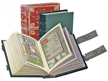 Das Da Costa-Stundenbuch. Kostbares Gut aus Belgien.: Originalgetreues Faksimile. 121 strahlende ...