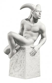 Sternzeichen Porzellanfigur »Steinbock, Mann«.: Design Christel Marott f�r Royal ...