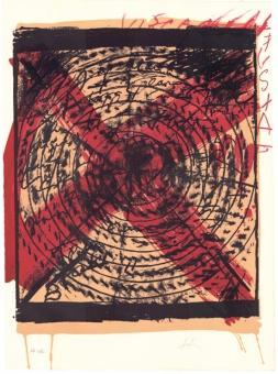 Antoni Tàpies. »Diana«, 1973.: Originalgrafik. WV 346.