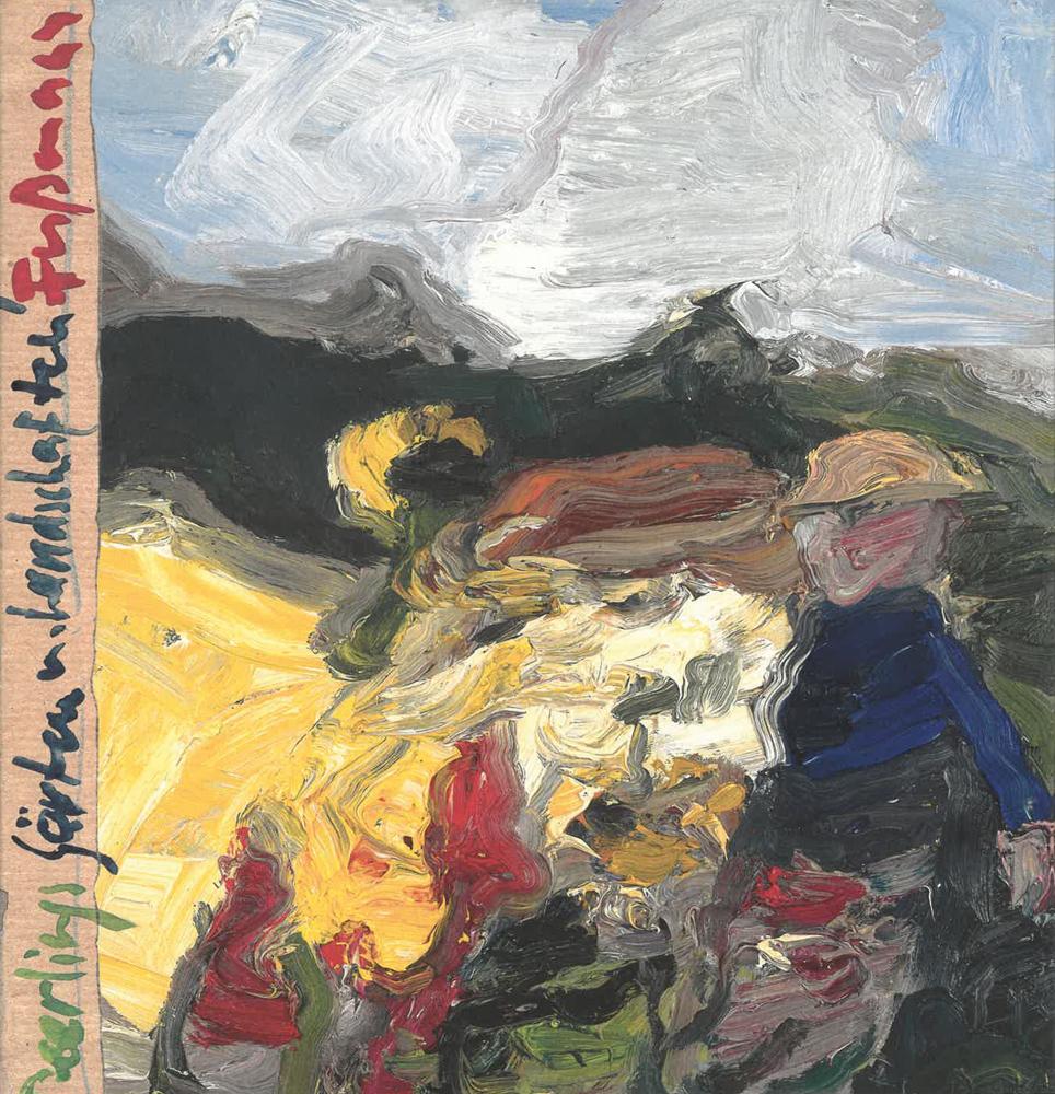 Klaus Fußmann. Gärten und Landschaften. Signierte Ausgabe. - Mit Texten von Klaus Fußmann und Gedichten von Sarah Kirsch, Robert Gernhardt und Günter Kunert. Krefeld u. a. O. 2000.