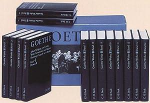 Goethe Werke. Hamburger Ausgabe. 14 Leinenbände.: Von Johann Wolfgang