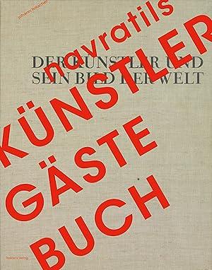 Navratils Künstler-Gästebuch. Der Künstler und sein Bild der Welt.: Hg. Jürgen ...