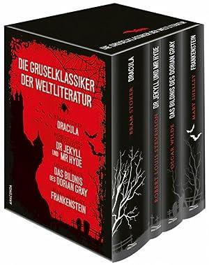 Die Gruselklassiker der Weltliteratur. Frankenstein. Dr. Jekyll: Von Mary Shelley,