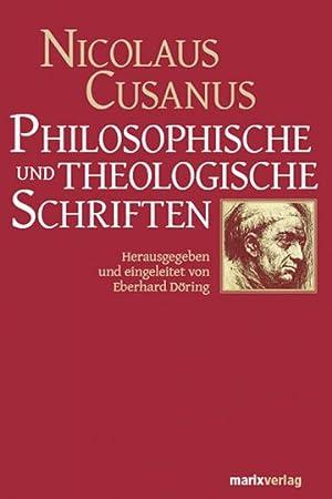 Nicolaus Cusanus. Philosophische und theologische Schriften.: Hg. Eberhard Döring. Wiesbaden 2012.