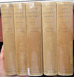 The Novels in Five Volumes - Pride: Austen, Jane (edited