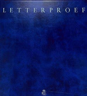 Letterproef.: KONINKLIJKE VAN DE