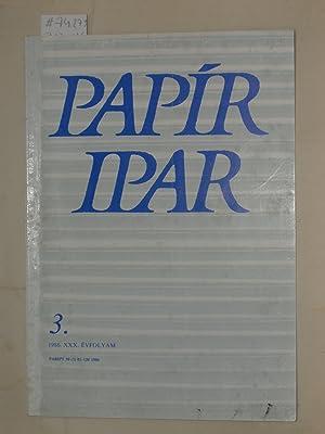 Papiripar, 3.szam, XXX.évfolyam, 1986.: GYÖRGY, VAMOS.
