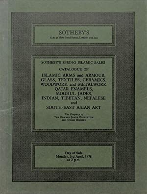 Sale 3 April 1978 : Islamic Arms: SOTHEBY'S - LONDON