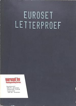 Letterproef.: EUROSET B.V. -
