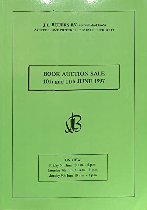 Sale 10th and 11th June 1997: Early: BEIJERS, J.L -