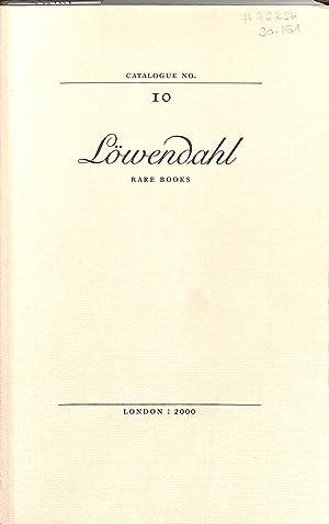 Catalogue 10/2000: The Swedish Catalogue.: LÖWENDAHL, BJÖRN -