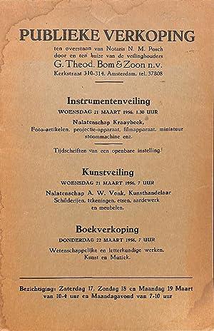 Sale no no./21 & 22 maart 1956: TH. BOM -