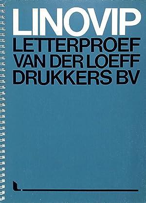 LINOVIP. Letterproef Van Der Loeff Drukkers bv.: VANDERLOEFF - ENSCHEDE