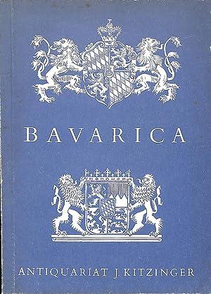 Catalogue 41/n.d.: Bavarica.: KITZINGER J. -