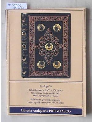 Catalogo 74/1997: Libri Illustrati Dal XV al: PREGLIASCO - TORINO