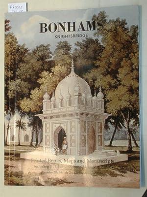 Sale 7 March 2000: Printed Books, Maps: BONHAMS