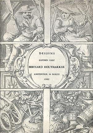 Dessins exposés chez Bernard Houthakker.: HOUTHAKKER, BERNARD -