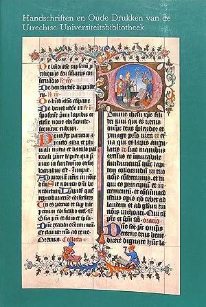 Handschriften en Oude Drukken van de Utrechtse: HORST, K. V.D.