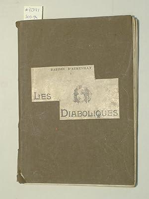 Les Diaboliques.: BARBEY D'AUREVILLY, J.