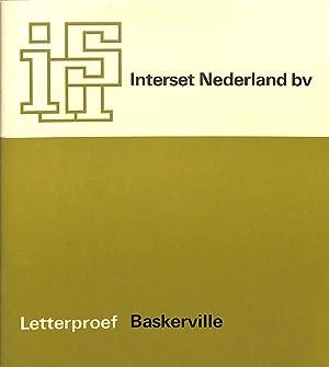 Letterproef Baskerville.: INTERSET NEDERLAND BV.