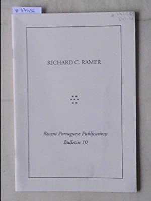 Bulletin 10/january 1994:Recent Portuguese Publications.Bibliography, Dictionnaries, Linguistics,: RAMER, RICHARD C.