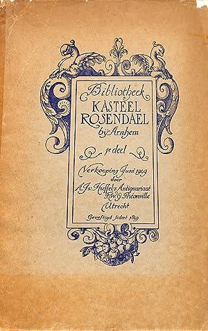 Sale 14/15 June 1949: Catalogus van de: ANTIQUARIAAT VAN HUFFEL