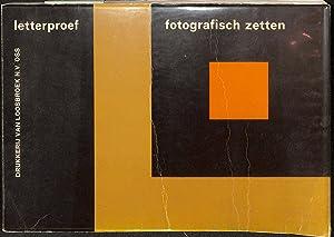 Letterproef Fotografisch Zetten.: LOOSBROEK, M.W. VAN