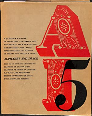 Nos. 4 & 5 (1947).: ALPHABET AND IMAGE.
