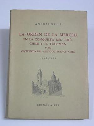 LA ORDEN DE LA MERCED EN LA: Mille, Andres