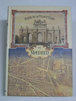 PLANO DE LA VILLA Y CORTE DE MADRID: Martinez de la Torre, Fausto