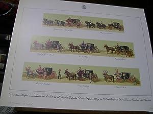 COMITIVA REGIA EN EL CASAMIENTO DE S. M. EL REY DE ESPAÑA DON ALFONSO XII CON S.A.I. y R. la...