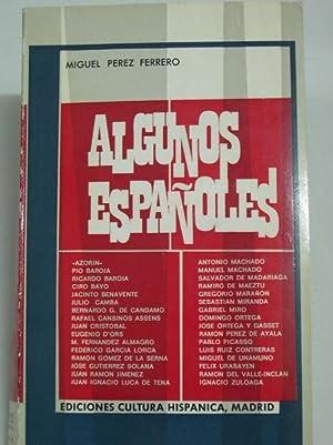 ALGUNOS ESPAÑOLES: Perez Ferrero, Miguel