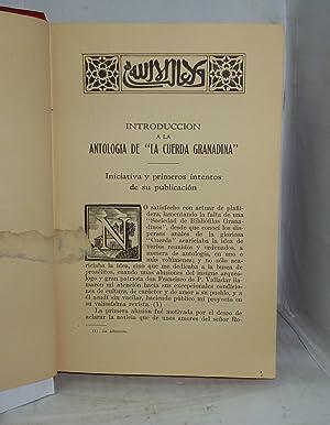 ANTOLOGIA DE LA CUERDA GRANADINA: Leon Sanchez, Manuel