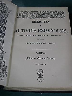 OBRAS: Cervantes Saavedra, Miguel