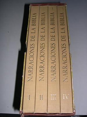 NARRACIONES DE LA BIBLIA. ( 4 volúmenes-completa)
