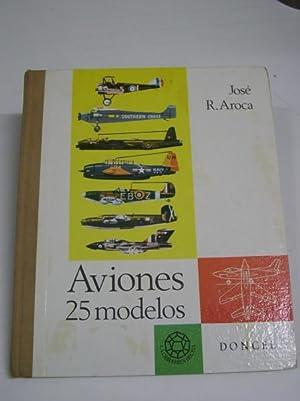 AVIONES, 25 MODELOS: Aroca, Jose R