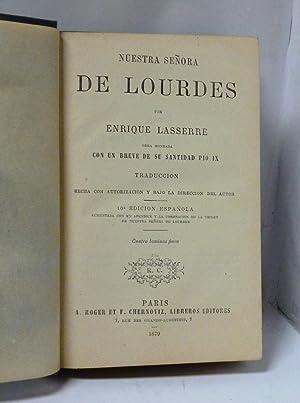 NUESTRA SEÑORA DE LOURDES. Obra honrada con: Lasserre, Enrique