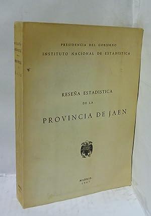 RESEÑA ESTADISTICA DE LA PROVINCIA DE JAEN